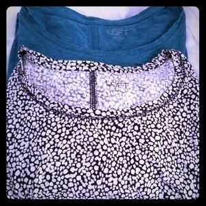 Loft long sleeved tops 100% cotton size xl